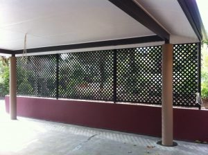 Black Painted—Screen in Bungalow QLD