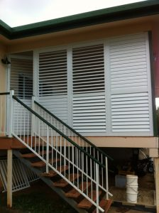 House Shutter 2—A & B Lattice Patios in Bungalow QLD