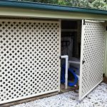 Storage Screen—Screen in Bungalow QLD
