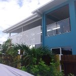 White Louvre 2—Lattice and Patios in Bungalow QLD